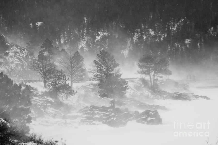 Boulder Canyon And Nederland Winter Landscape Photograph
