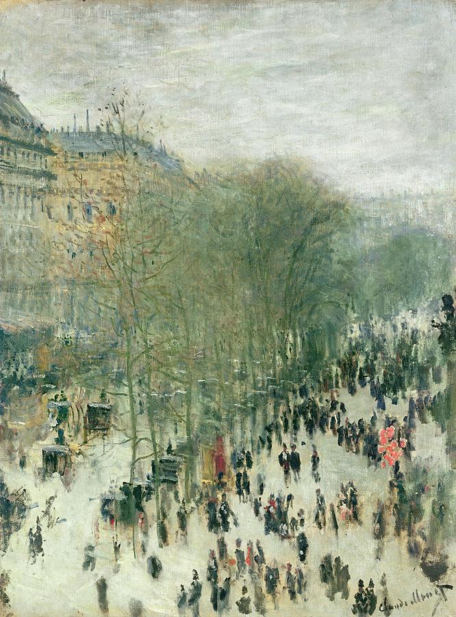 Boulevard Des Capucines Painting