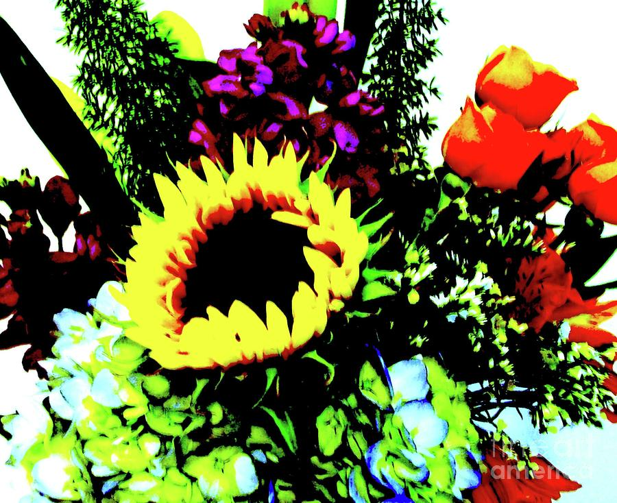 Bouquet Abstract Photograph