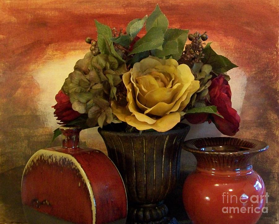 Bouquet Decor Ll Photograph  - Bouquet Decor Ll Fine Art Print