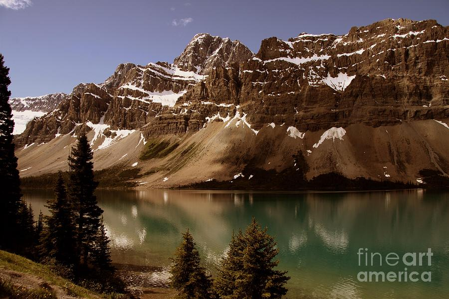 Bow Lake Photograph  - Bow Lake Fine Art Print