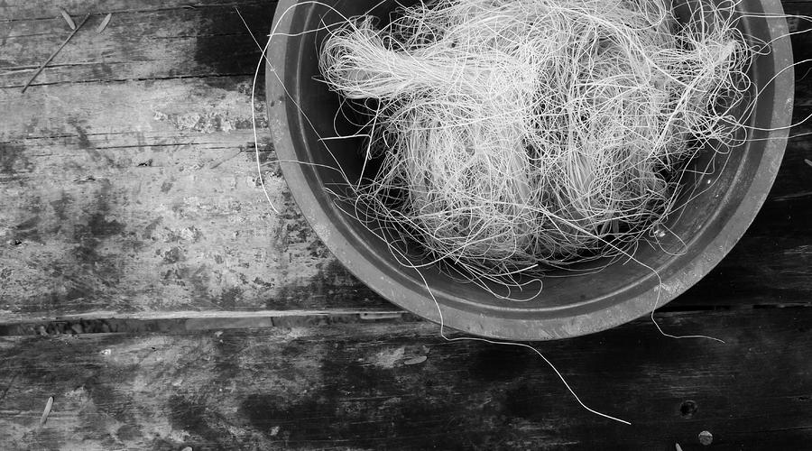 Bowl Of Twine Tres Photograph