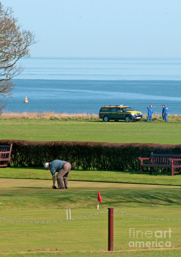 Bowls And Coastguards Photograph