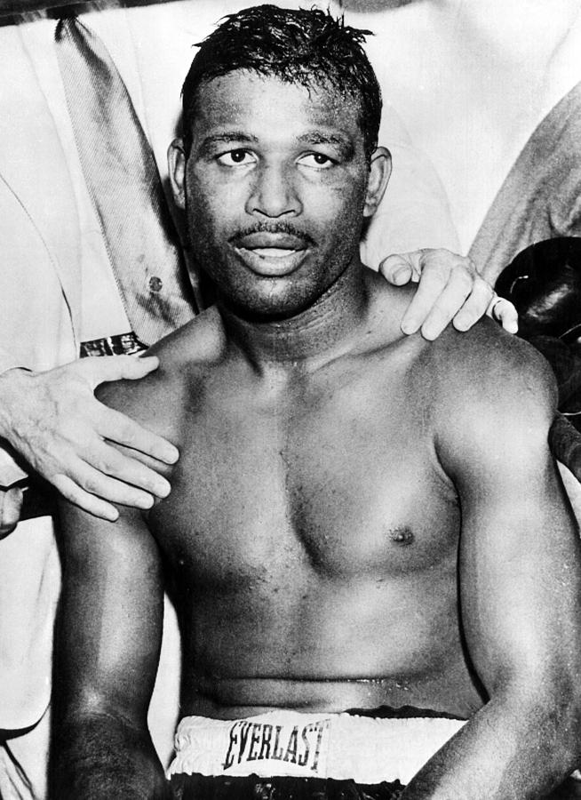 1950s Candids Photograph - Boxer Sugar Ray Robinson, 1921-1989 by Everett