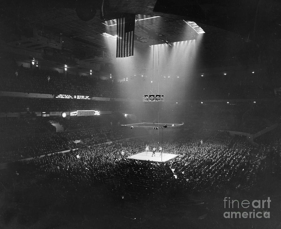 Boxing Match, 1941 Photograph