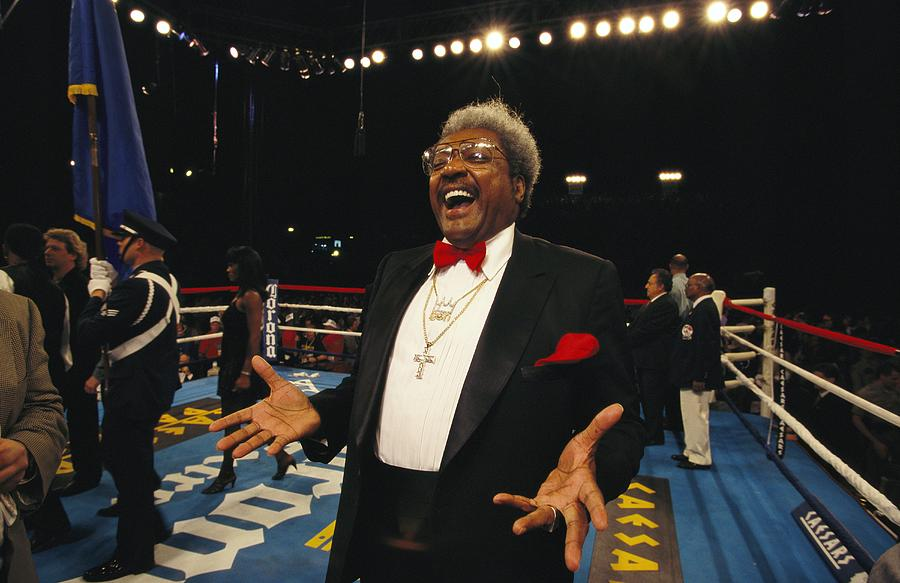 Boxing Promoter Don King In The Boxing Photograph  - Boxing Promoter Don King In The Boxing Fine Art Print