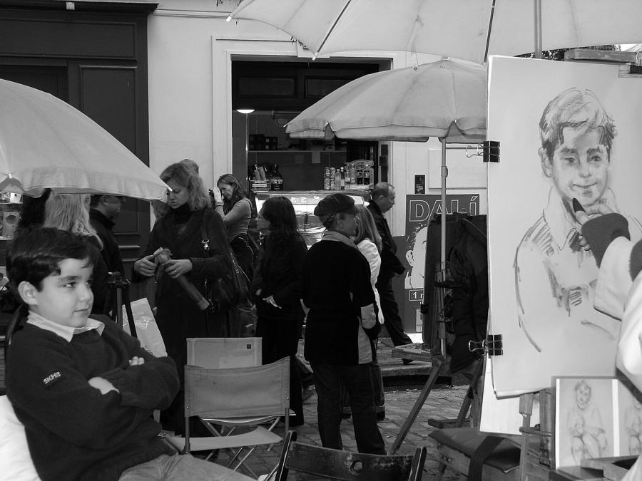 Boy In Montmartre Photograph
