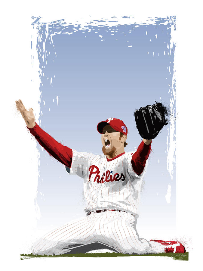 Brad Lidge Champion Digital Art