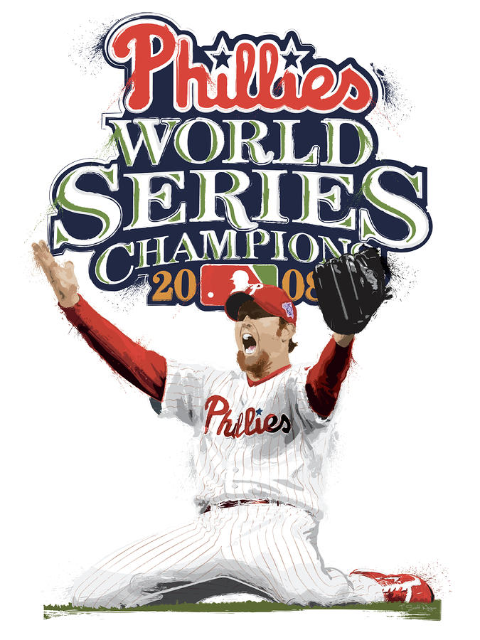 Brad Lidge Ws Champs Logo Digital Art