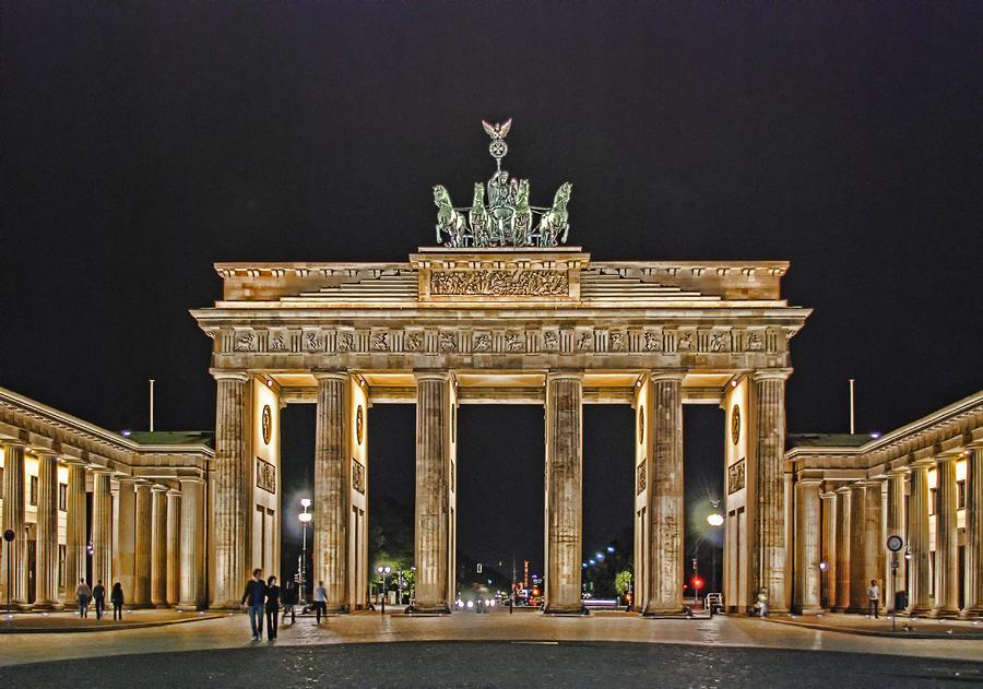 Brandenburg Gate Photograph