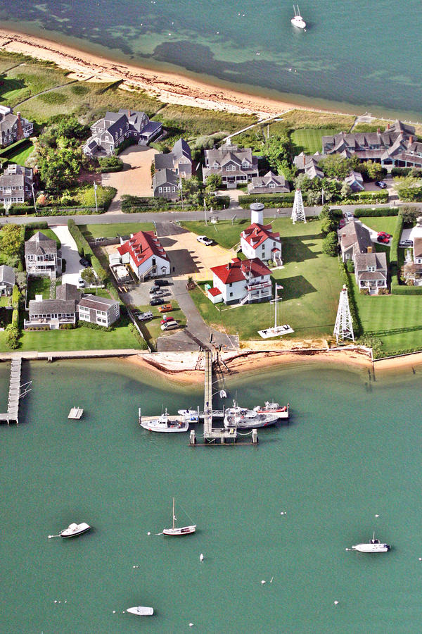 Brant Point Coast Guard Station Nantucket Harbor 2 Photograph