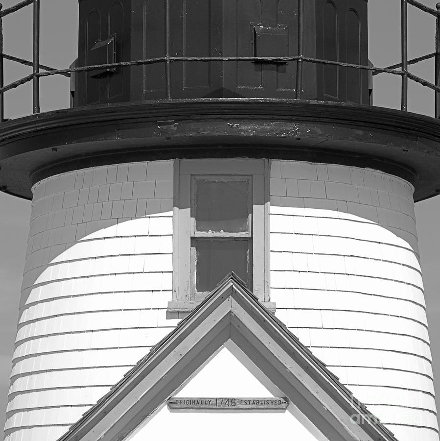 Brant Point Lighthouse Nantucket Photograph  - Brant Point Lighthouse Nantucket Fine Art Print
