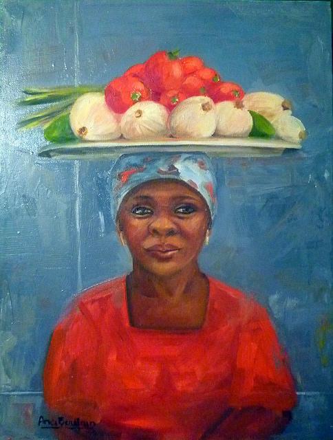 Brasilian Woman  Painting