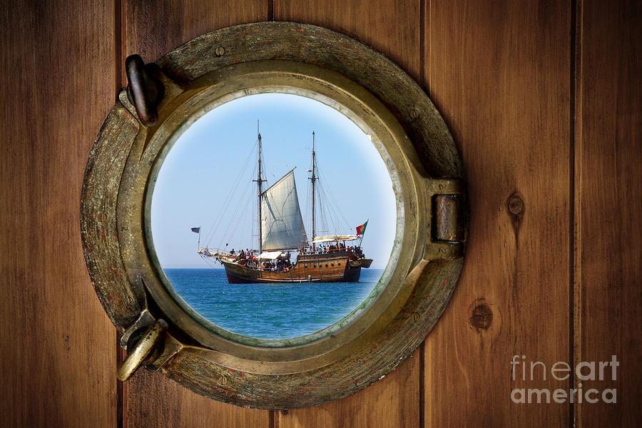 Brass Porthole Photograph