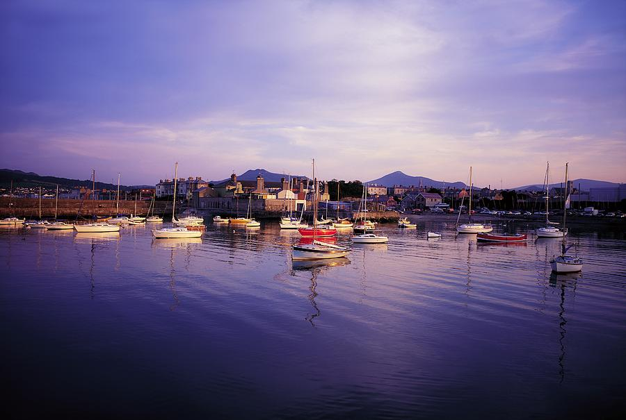 Boat Photograph - Bray Harbour, Co Wicklow, Ireland by The Irish Image Collection