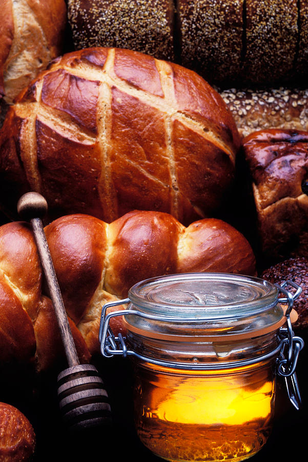 Bread And Honey Photograph  - Bread And Honey Fine Art Print