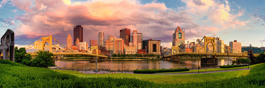 Pittsburgh Photograph - Break Open The Skies by Jennifer Grover