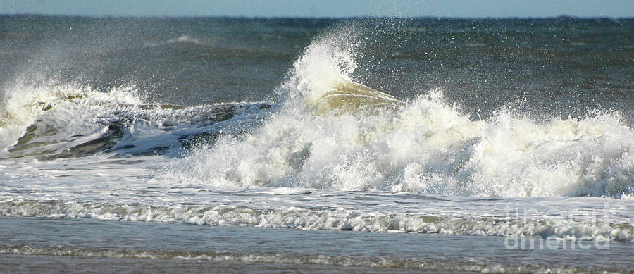 Breaking Waves Photograph