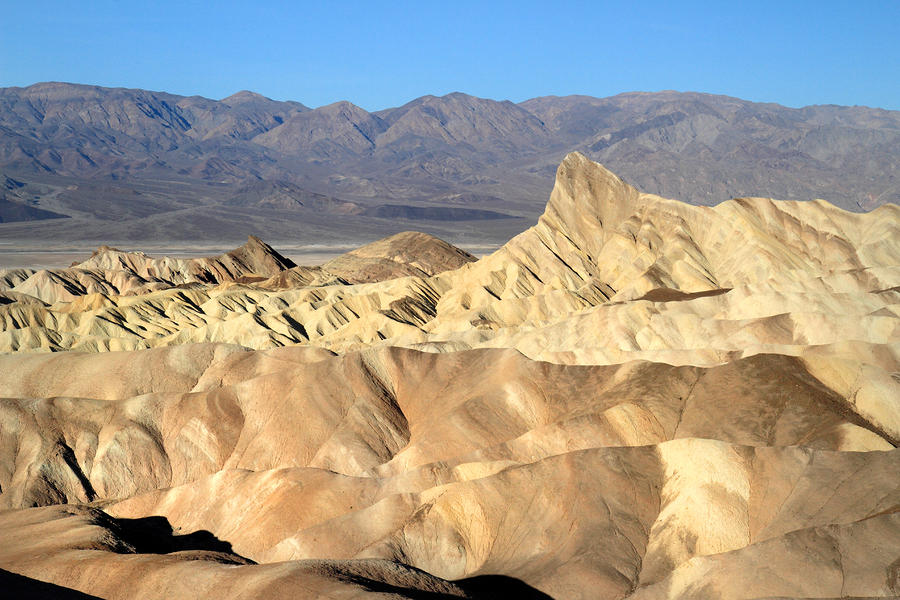 Breath Taking Landscape Of Zabriskie Point Photograph  - Breath Taking Landscape Of Zabriskie Point Fine Art Print