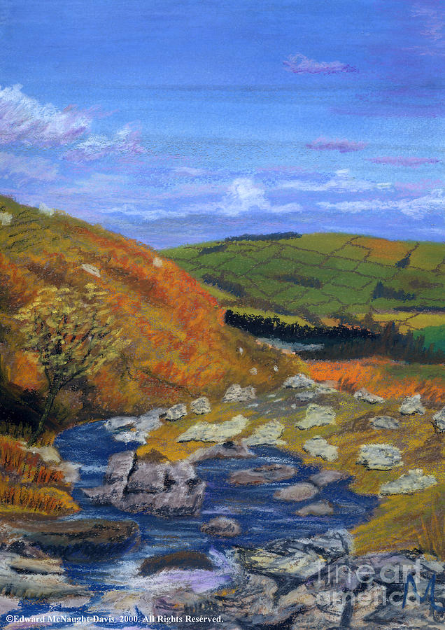 Brecon Beacons Painting