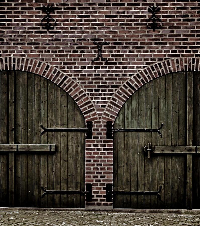 Doors Photograph - Brick Zipper by Odd Jeppesen