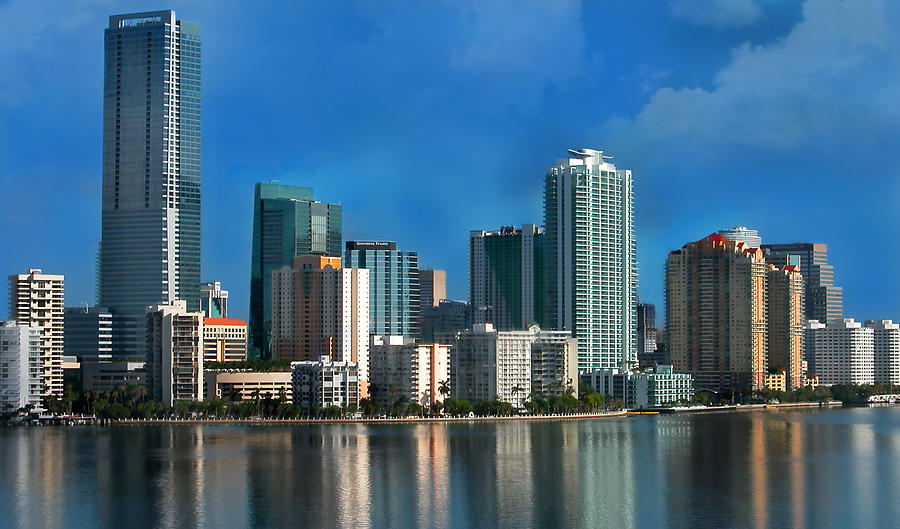 Brickell Skyline 2 Photograph