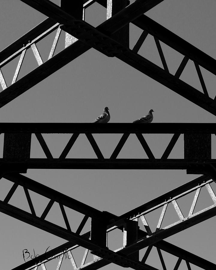 Bridge Abstract Photograph  - Bridge Abstract Fine Art Print