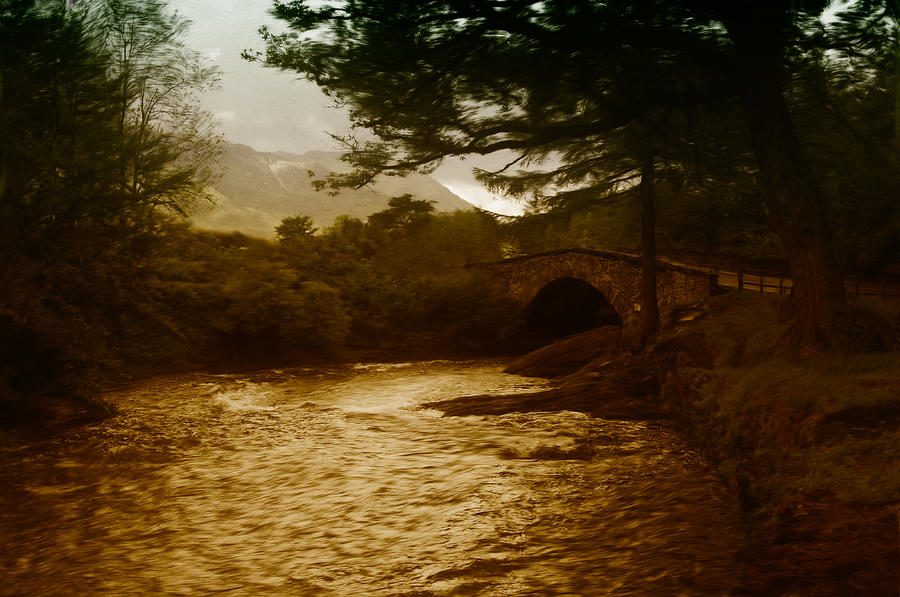 Bridge At The River Coe Painting