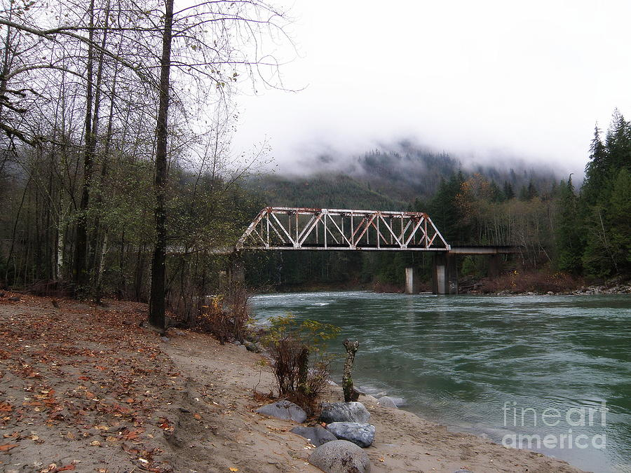 Bridge In Washington State Photograph
