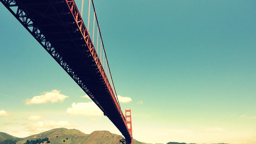 Bridge To The Headlands Photograph