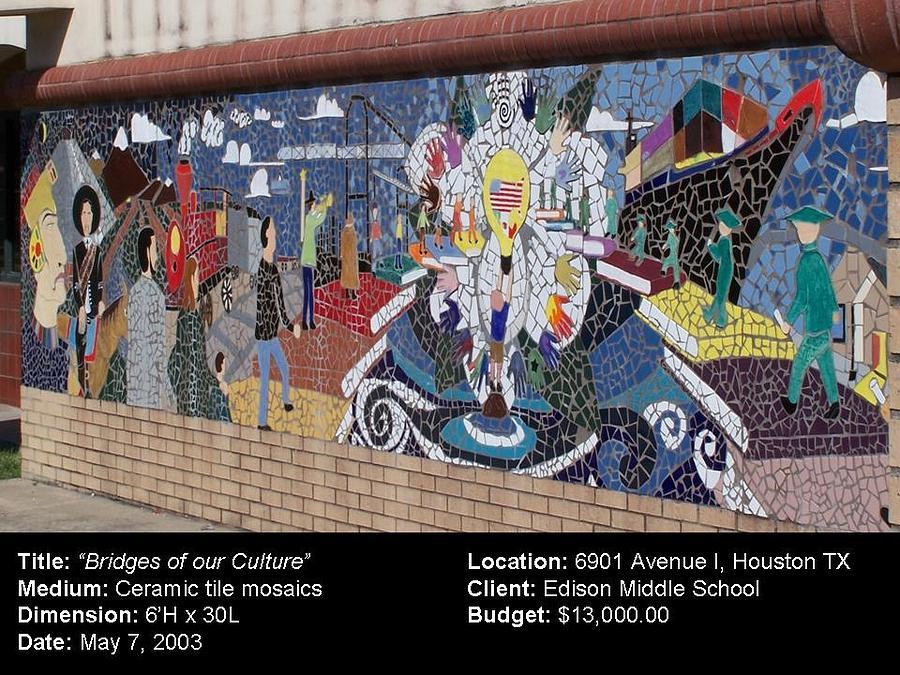 Bridges Of Our Culture Ceramic Art