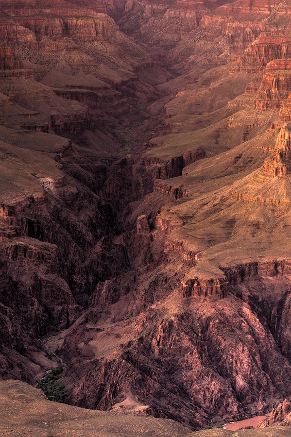 Bright Angel Canyon Grand Canyon National Park Photograph