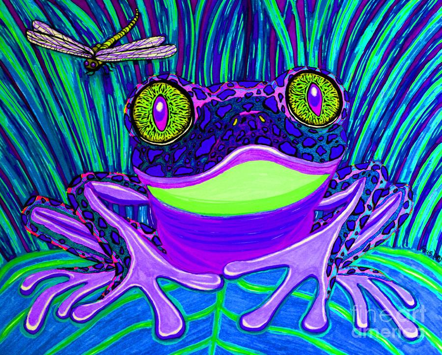 Bright Eyes 3 Drawing