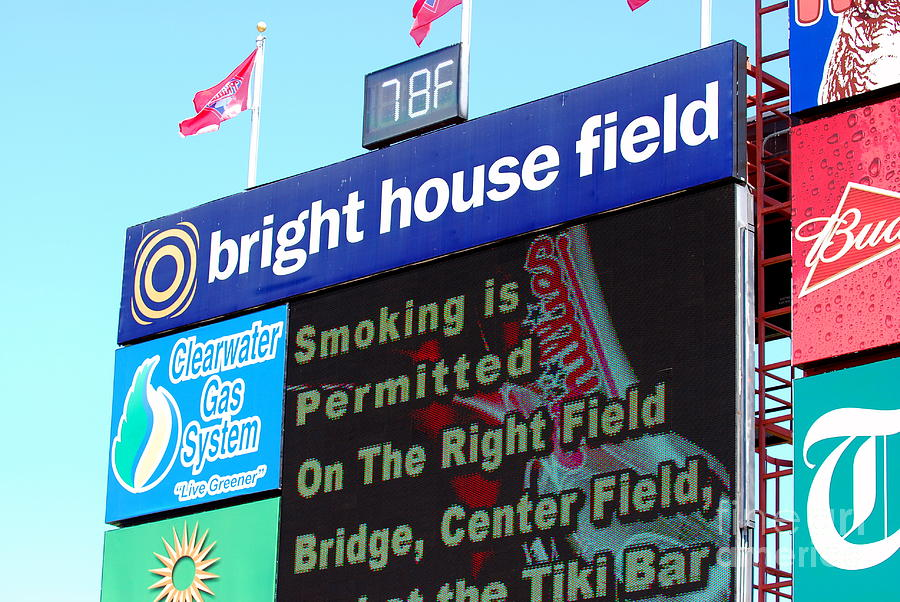Bright House Field Photograph