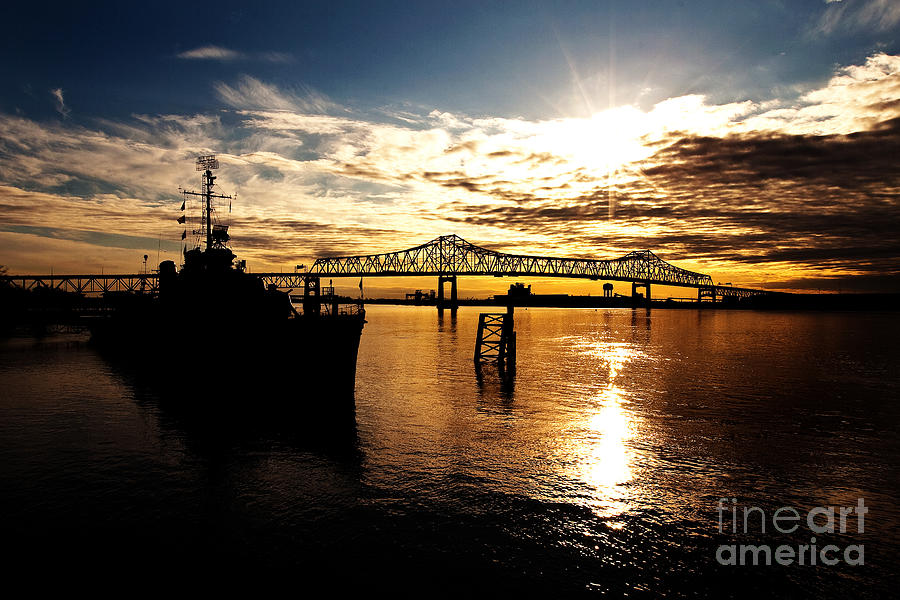 Bright Time On The River Photograph
