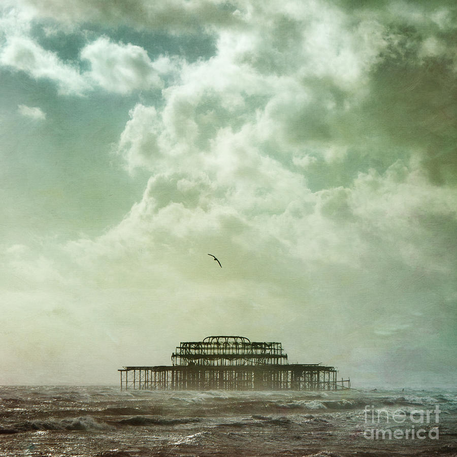 Brighton Seascape Photograph  - Brighton Seascape Fine Art Print