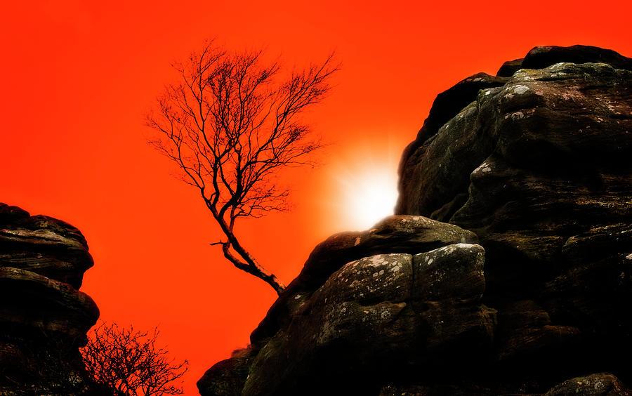 Brimham Sunset Photograph