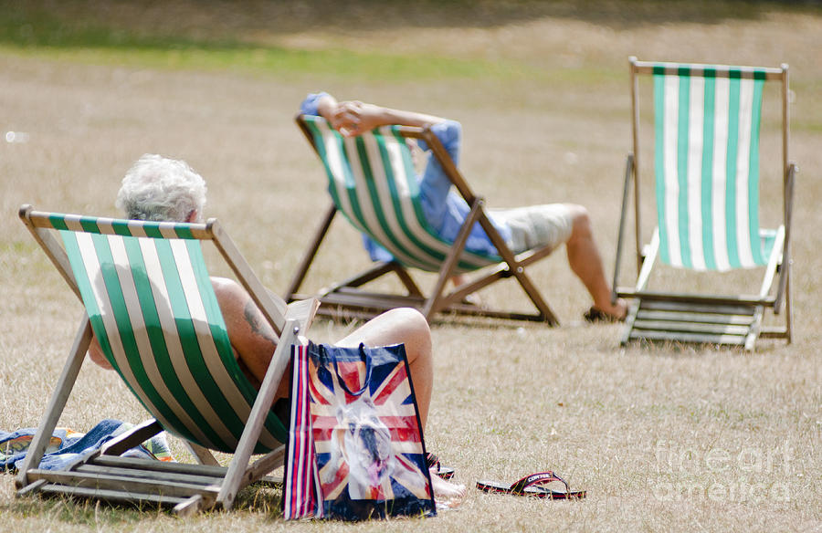 British Deck Chairs Photograph