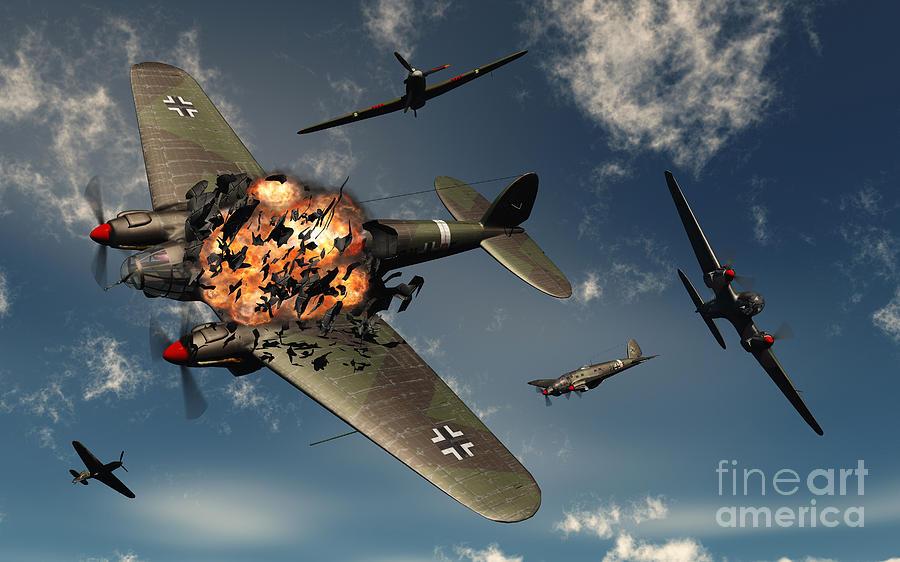 British Hawker Hurricane Aircraft Digital ArtHurricane Art