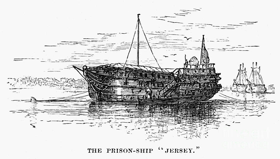 British Prison Ship, 1770s Photograph