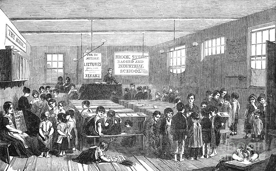 British Ragged School Photograph  - British Ragged School Fine Art Print
