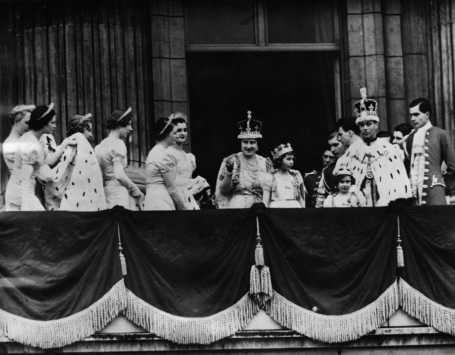 British Royal Family. From Center, L-r Photograph