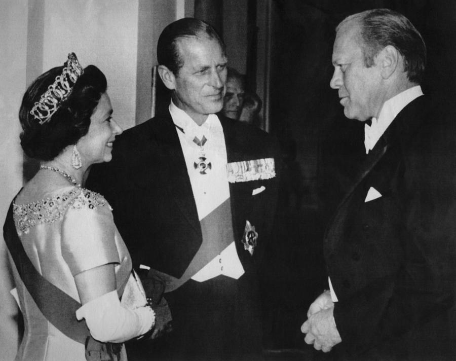 British Royalty. From Left  Queen Photograph