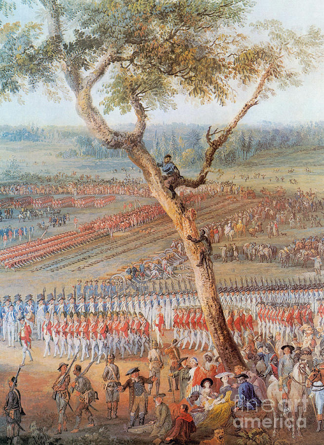 British Troops Surrender At Yorktown Photograph