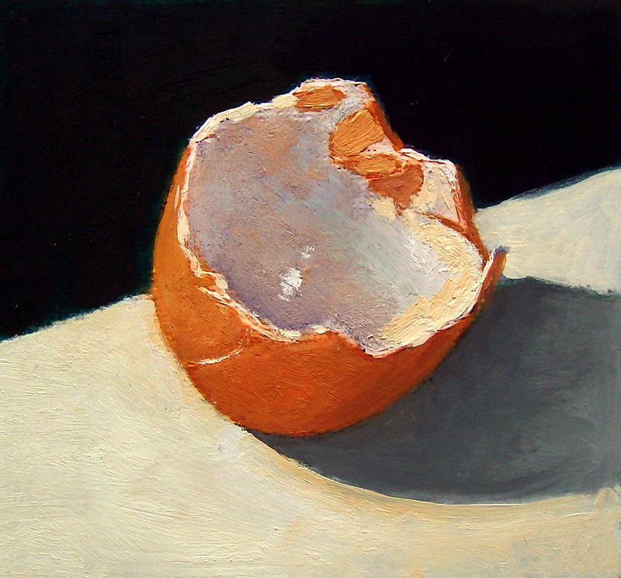 broken egg shell by joyce geleynse