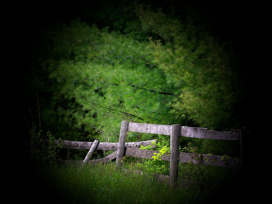 broken fence warning announcement - photo #10