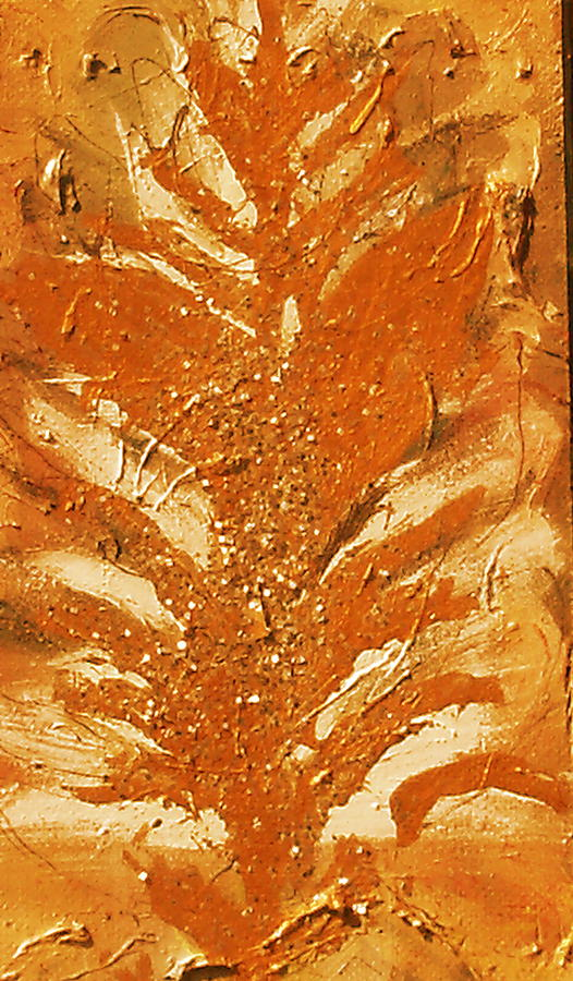 Bronze Roots II Painting  - Bronze Roots II Fine Art Print