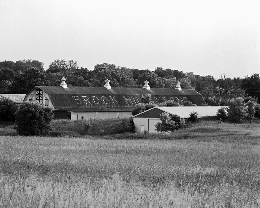 19th Century Farming Photograph - Brook Hill Dairy Farm by Jan W Faul