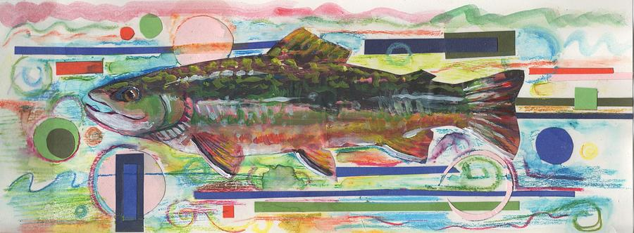 Brook Trout 1 Painting
