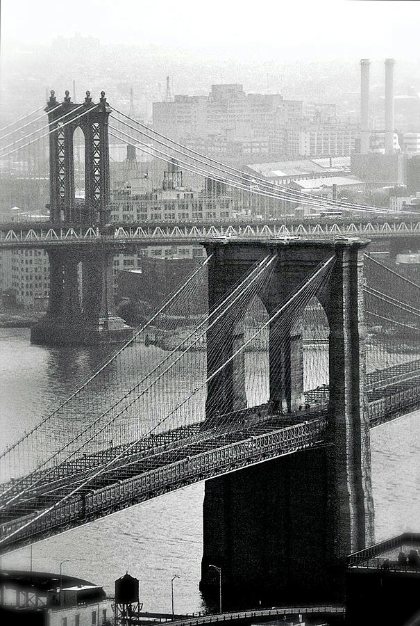 Brooklyn And Manhattan Photograph  - Brooklyn And Manhattan Fine Art Print
